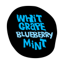 White Grape Blueberry Mint Taste Pic